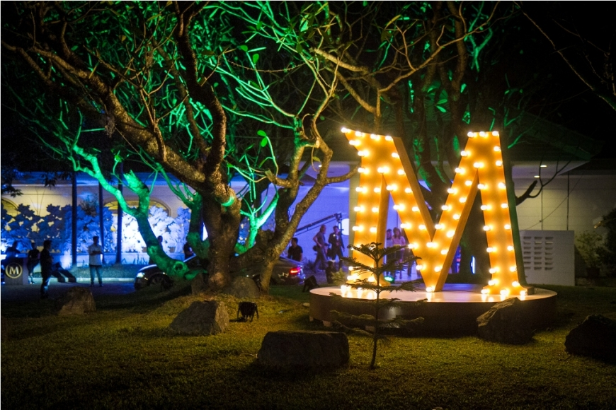 Brunei mansion was transformed into a Magnum haven just for one night for the MagnumParty2013