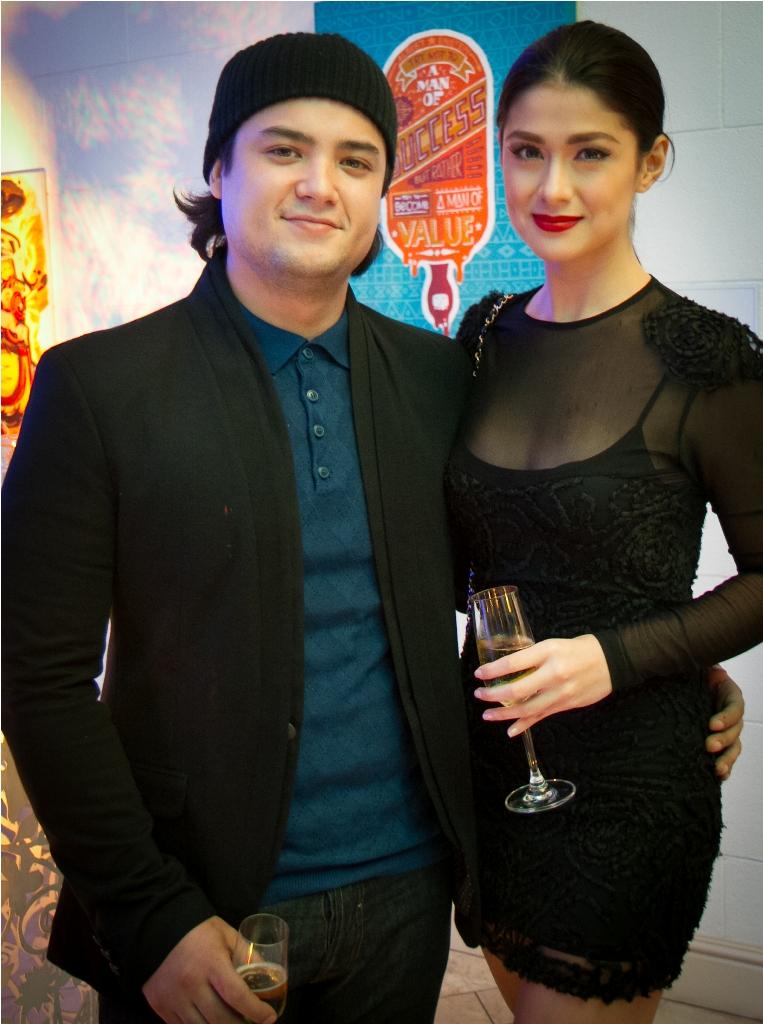 Geoff Eigennman and Carla Abellana