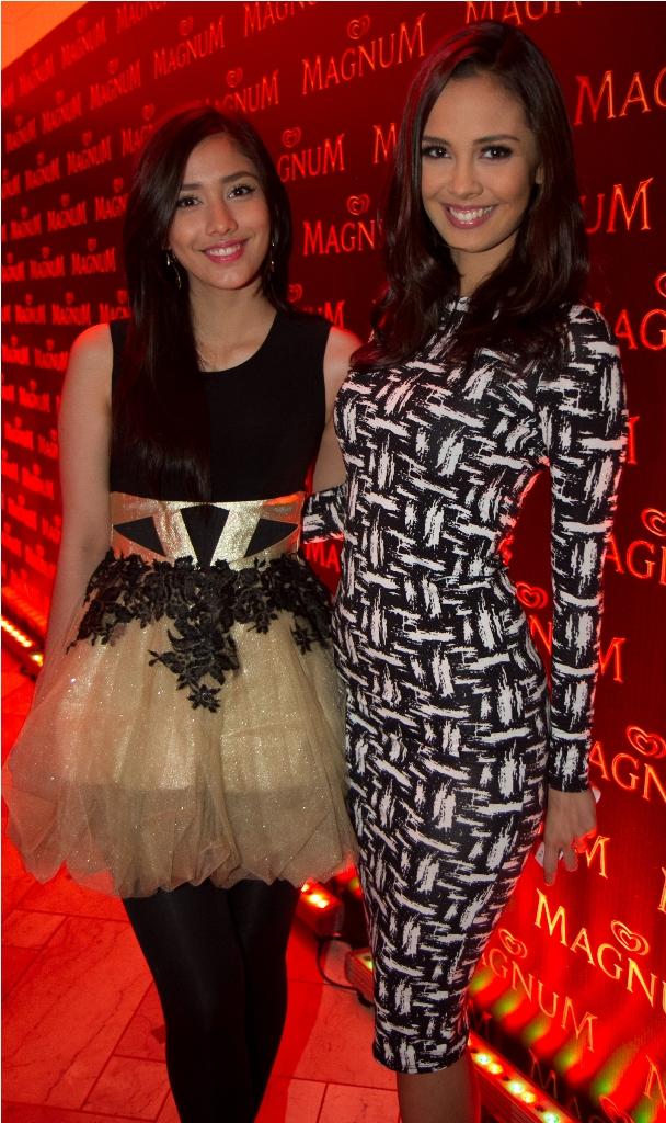 Lauren and Megan Young