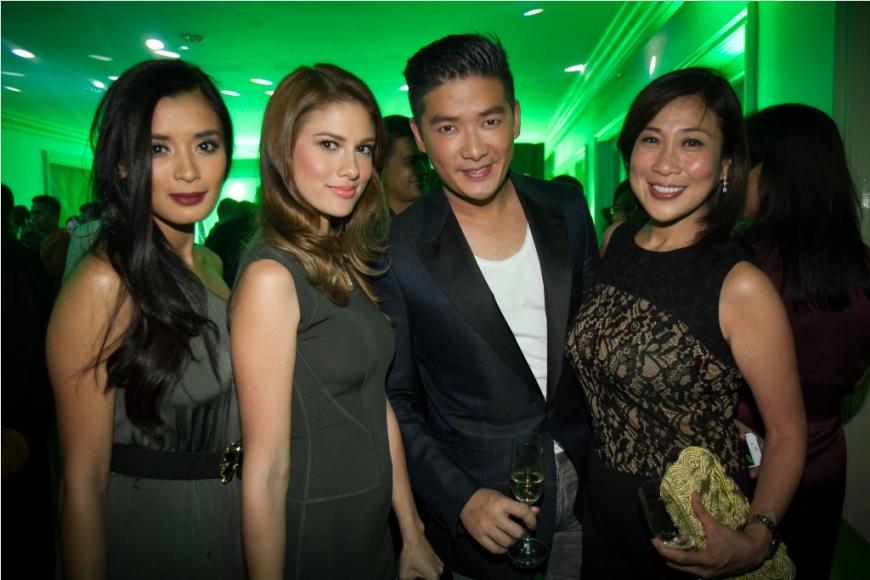 Mitch Madrigal, Bianca King, Tim Yap and GMA Films President Anette Abrogar