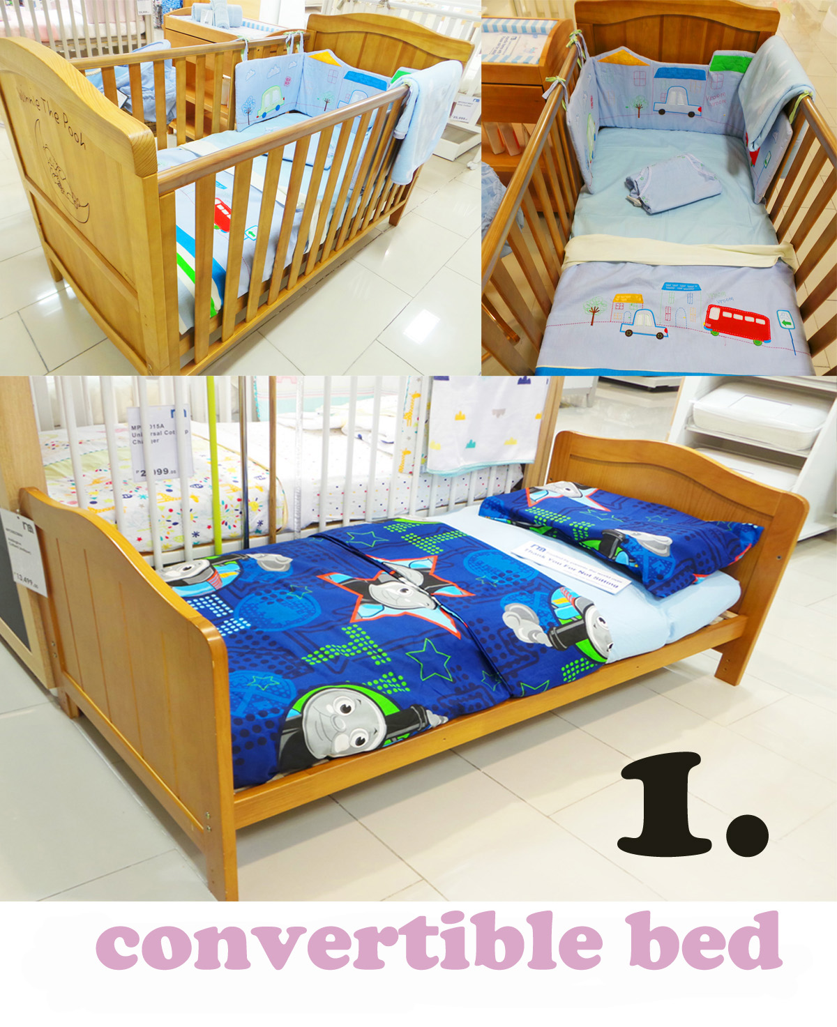 Crib for sale in davao city - What A Smart Way To Design A Crib You Can Actually Transform It Into A Bed So Your Little One Can Use It From